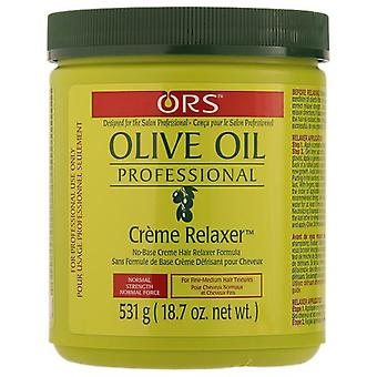 Organic root stimulator Olive Oil Creme Relaxer Normal 18 Kg