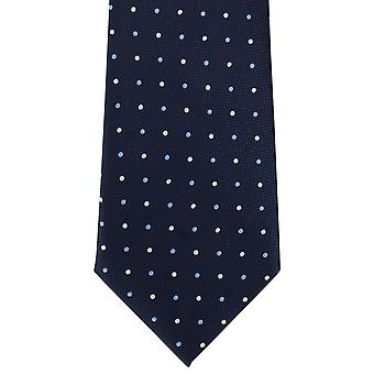 Michelsons London Fett vor Ort Polyester Krawatte - blau