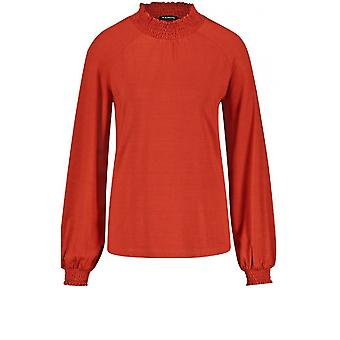 Taifun Burnt Orange Jersey Top