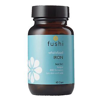 Fushi Wellbeing Whole Food Iron Veg Caps 60 (F0021203)