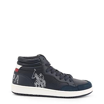 Man leather sneakers shoes ua06871