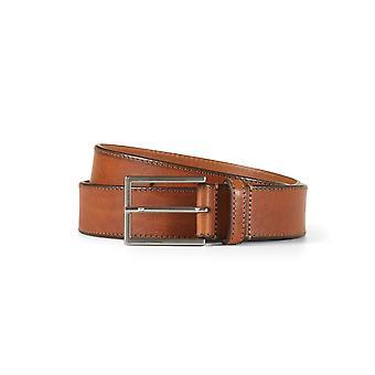Leather belt matthew brown