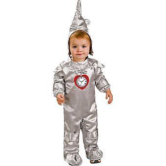 Tin Man spädbarn kostym
