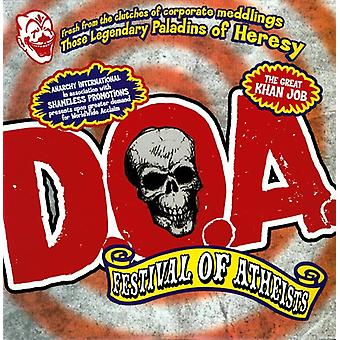 D.O.a. - Festival of Atheists [CD] USA import