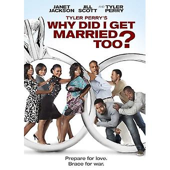 Why Did I Get Married Too [DVD] USA import