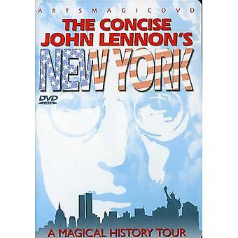 John Lennon - The Concise John Lennon's New York [DVD] USA import