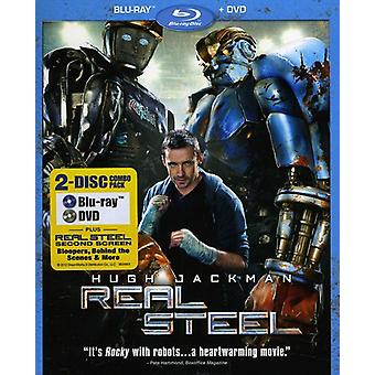 Real Steel (Blu-ray/DVD Combo) [BLU-RAY] USA import