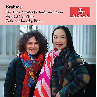 Three Sonatas For Violin & Piano [CD] USA import