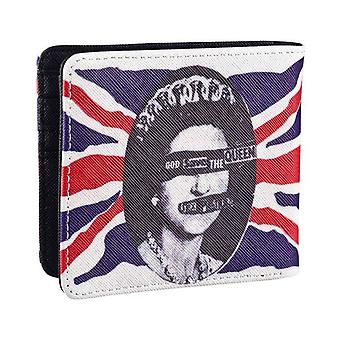 Sex Pistols Wallet God Save The Queen Band Logo new Official Black Bifold