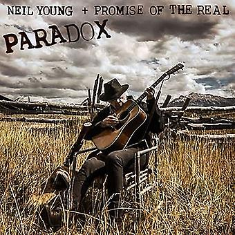 Neil Young & Promise of the Real - Paradox [CD] USA import