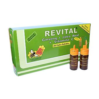 Ginseng Revital 20 ampoules