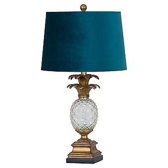 Hill Interiors Ananas Glass Table Lamp