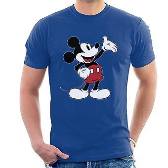 Disney Mikke Mus hånd gest menn ' s T-skjorte