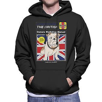 Haynes Explains British Bulldog Workshop Manual Men's Hooded Sweatshirt