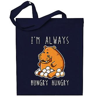 Hungry Hungry Hippos Totebag