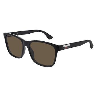 Gucci GG0746S 002 Black/Brown Sunglasses