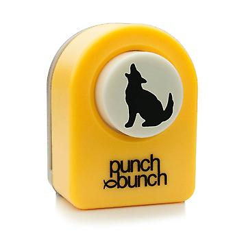 Punch Bunch Small Punch - Wolf