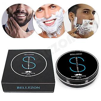 Men Soft Shaving Soap Cream Anti Allergy Beard