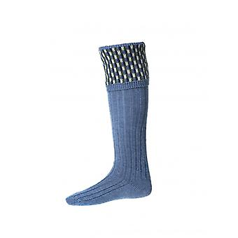 House of Cheviot Country Socks Stirling ~ Blue Mix