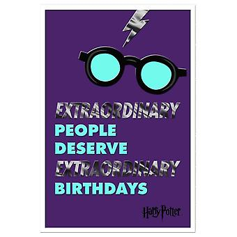 Hallmark Harry Potter Extraordinary People Birthday Card 25527980