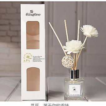 Stress Relieve Air Purifying Home Fragrances Essential Oil - Aroma Scent Diffuser with Rattan Sticks