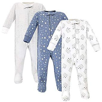 Hudson Baby Baby Zipper Sleep N Play