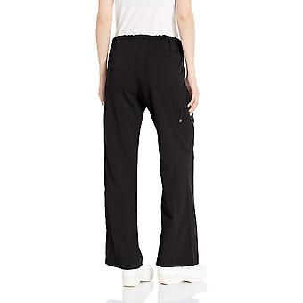 dickies Femmes-apos;s Xtreme Stretch Fit Drawstring Flare Leg Pant, Black Large