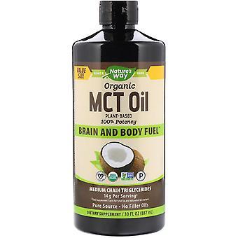 Nature's Way, Organic MCT Oil, 30 fl oz (887 ml)