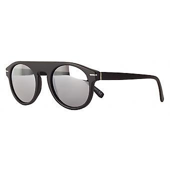 Sunglasses Unisex Cat.3 matt black/silver (amm19103b)