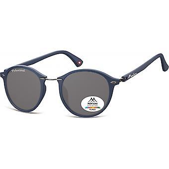 Sunglasses Unisex Panto matt blue/grey (MP22)