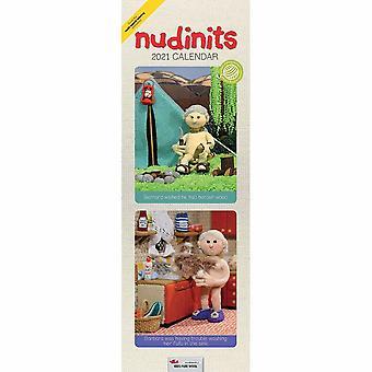Otter House 2021 Slim Calendar - Nudinits