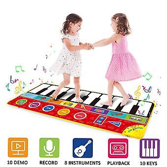 Veľkou veľkosťou Multifunkčná klavírna klávesnica, Playmat