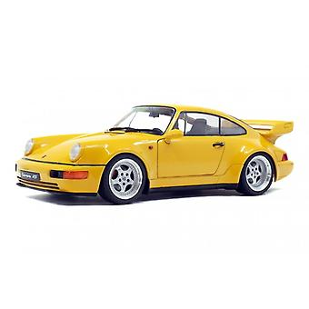 Solido 1:18 1990 Porsche 964 Turbo Yellow