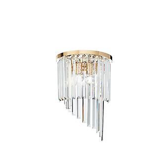 Idealny Lux Carlton - 3 lekkie złoto, E14