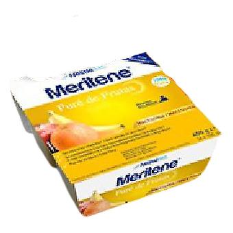 Meritene Fruit Purée 4 Tubs of 100 gr (Food, Beverages & Tobacco , Food Items)