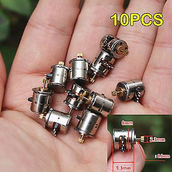 Mini 8mm 2-phase 4-wire Stepper Motor Miniature With 9 Teeth Gear Small Tiny Micro Toy Engine Diy Camera