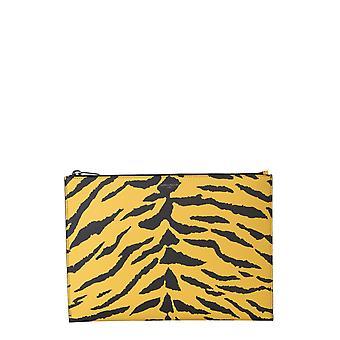 Saint Laurent 3972941fh3d7268 Men's Yellow/black Leather Case