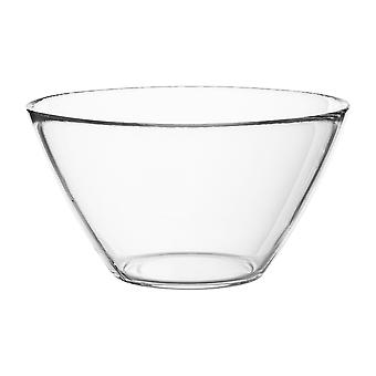 Bormioli Rocco Basic Glass Kitchen Mixing Bowl - Small Dish for Preparation and Service - 435ml