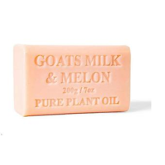 10x 200g Goats Milk Soap And Melon Goat Bar Skin Care Pure Natural
