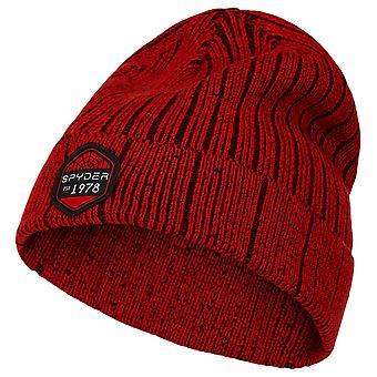 Spyder SPECTOR Kids Knit Winter Ski Hat Red