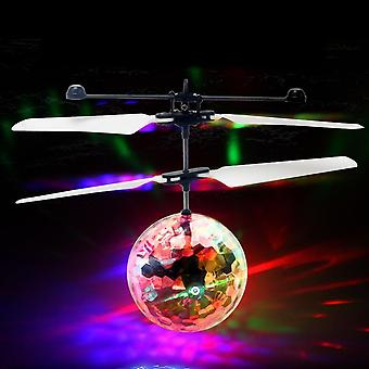 Flying Led Luminous Kid flight balls elektroniska infraröd induktionsflygplan fjärrkontroll leksaker magic sensing helikopter