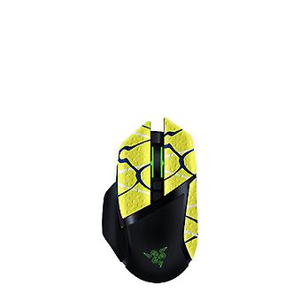 REYTID Durasoft Polímero Gaming Mouse Skin Grip Sticker Tape - PRE-CUT - Compatible con Razer Basilisk Ultimate HyperSpeed - Grips antideslizantes, impermeables y ultracómicos