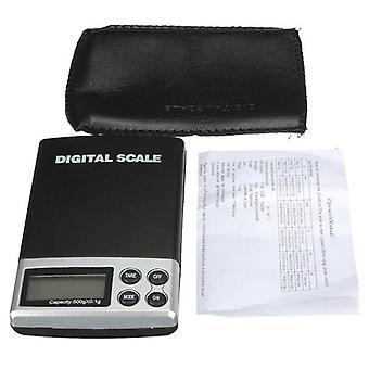 500g 0.1g LCD elektronische digitale Mini Tasche Skala Schmuck Gewicht Waage