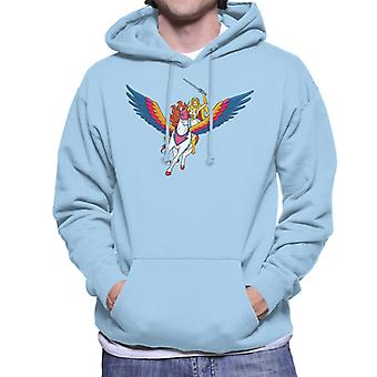 Masters Of The Universe She Ra Swift Wind Men's Hooded Sweatshirt