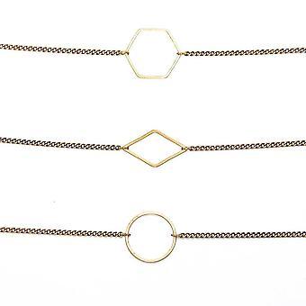 Konvertible halskæde/armbånd