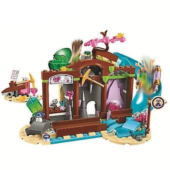 Elves Dragon Series Fairy Friend, Figures Building Block Bricks Toy