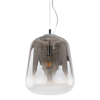Italux Lanila - moderne hängende Anhänger Rauch 1 Licht, E27