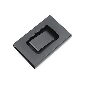 Card holder with clip and RFID protection Black