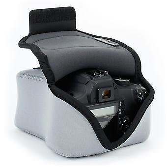 Usa Getriebe dslr Kameratasche für Digitalkamera mit Neoprenschutz, Holster Gürtelschlaufe und Zubehör wom35465