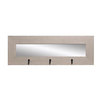 Miroir de mur de dernier regard avec des crochets